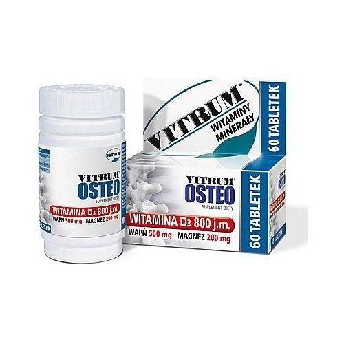 Unipharm usa Vitrum osteo wapń magnez witamina d3 60 tabl.