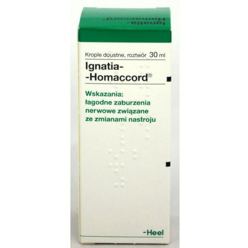 HEEL Ignatia-Homaccord krople 30 ml (Homeopatia)