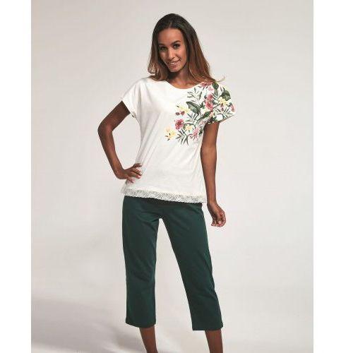 Bawełniana piżama damska Cornette 369/168 Lillian ecru (5902458148189)