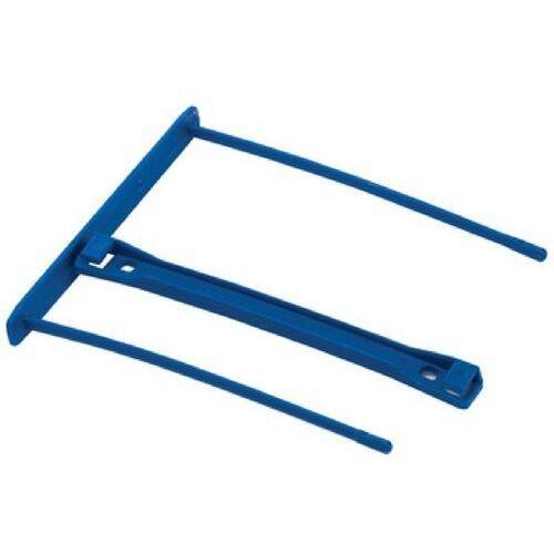 Fellowes Klips biurowe na akta do dokumentów pro, niebieski, rozmiar 100 mm, opakowanie 50 sztuk, 0089801