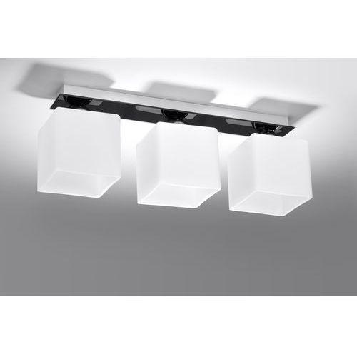 Lampa sufitowa PIAZZA 3 czarny SL.0223 - Sollux - Rabat w koszyku, SL.0223
