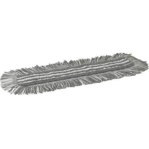 Mop Damp 48, do sprzątania na wilgotno, na rzepy, szary, 400 mm, VIKAN 548740, marki Vikan do zakupu w Gastrosilesia