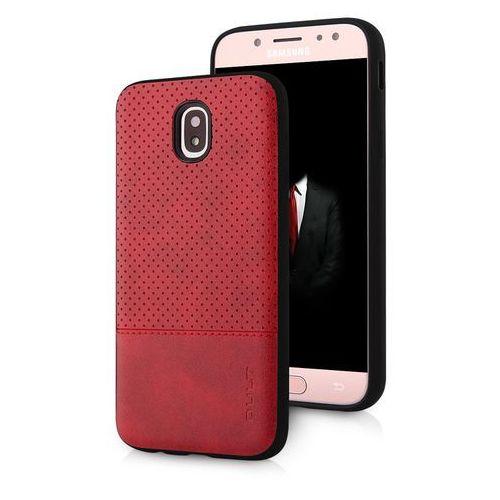 Etui QULT Back Case Drop do Samsung Galaxy J7 2017 Czerwony, kolor czerwony