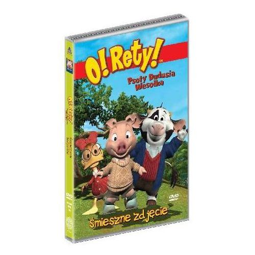 O! Rety! Psoty Dudusia Wesołka: Śmieszne zdjęcie (Płyta DVD) (5905116005978)