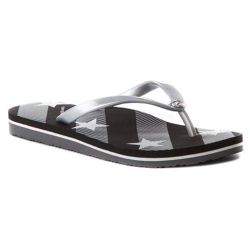 bd88e6978df13 Japonki - stars and stripes beach sandal fw0fw02384 black 990, Tommy  hilfiger, 36-40 109,00 zł wygodna sugestia od TOMMY HILFIGER.