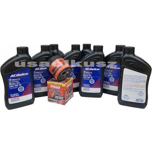 Filtr olej silnikowy 5W-30 Dexos2 Full Synthetic ACDelco Chevrolet Camaro SS 6,2 V8 -2015