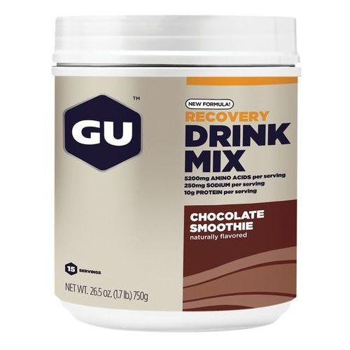 recovery drink mix żywność dla sportowców chocolate smoothie 750g 2018 suplementy marki Gu energy