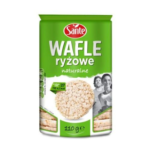 Wafle ryżowe naturalne 110 g Sante