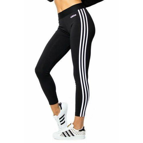 Legginsy damskie adidas Essentials 3 Stripes Tight czarne DP2389, kolor czarny