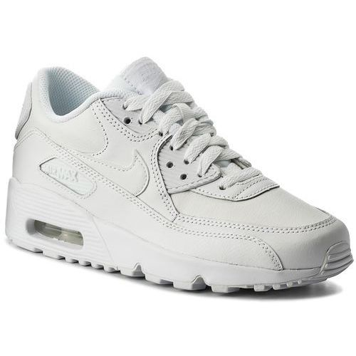 quality design 06aa8 2ab8c Buty NIKE - Air Max 90 Ltr (GS) 833412 100 White White,