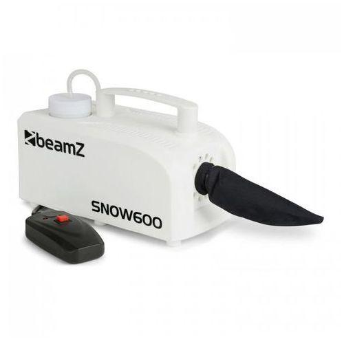 SNOW 600 Maszyna do wytwarzania śniegu 600 W 0,25 l zbiornik pilot kablowy z kablem 5 m kolor biały