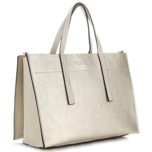 47b169801adce Eleganckie Włoskie Torebki Skórzane Firmowy Kuferek renomowanej marki  Vittoria Gotti Złoty (kolory) 299,00 zł lubisz minimalizm w ekskluzywnym  wydaniu?