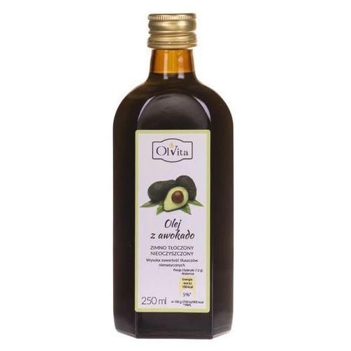 Olej z awokado zimno tłoczony 250 ml (5903111707774)