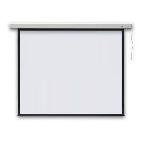 Ekran projekcyjny profi elektryczny, ścienny 240x240cm, (1:1) marki 2x3