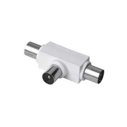Adapter HAMA 1x Wtyk 2x Antenowy 99043159/122472 + Odbiór w 800 punktach!, towar z kategorii: Przewody