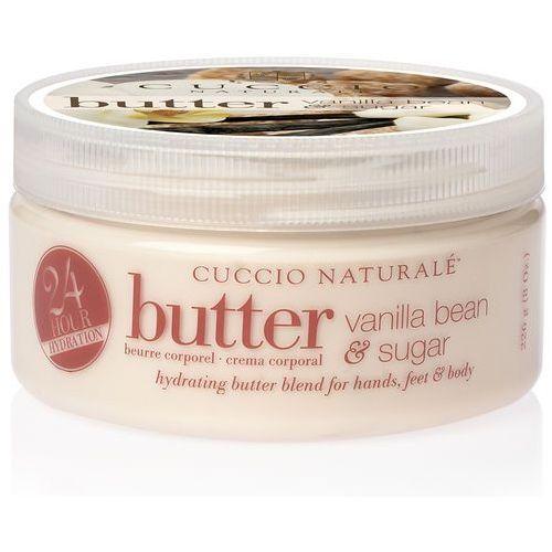 Cuccio Butter Blend | Nawilżające masło do ciała - wanilia i cukier 240ml