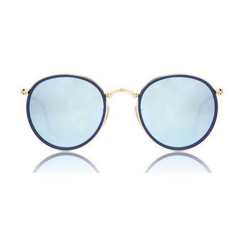 1746dcf4af Ray-ban Okulary słoneczne rb3517 round folding 001 30 764