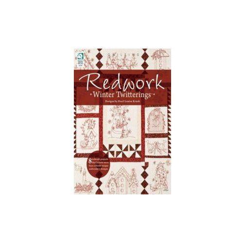 Redwork Winter Twitterings