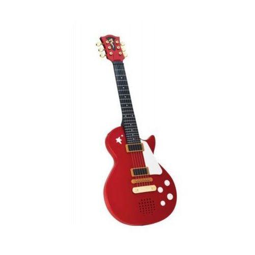 Gitara rockowa czerwona marki Simba