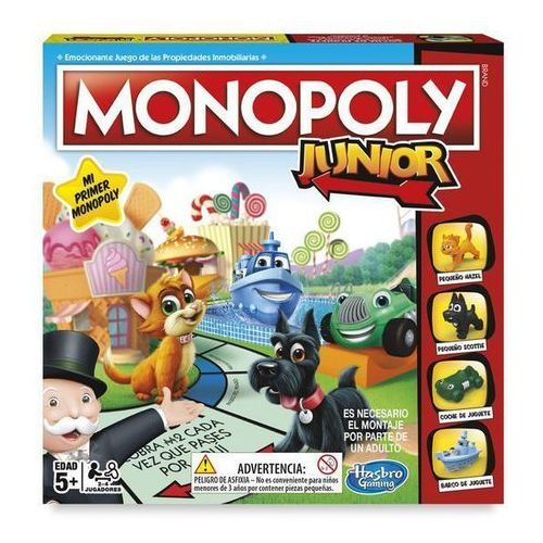 Hasbro Gra planszowa monopoly junior