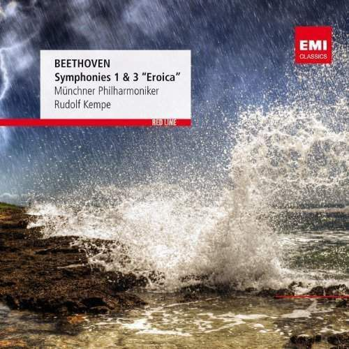 RED LINE - SYMPHONIES NOS. 1 & 3 - Kempe, Rudolf, Muenchner Philharmoniker (Płyta CD)