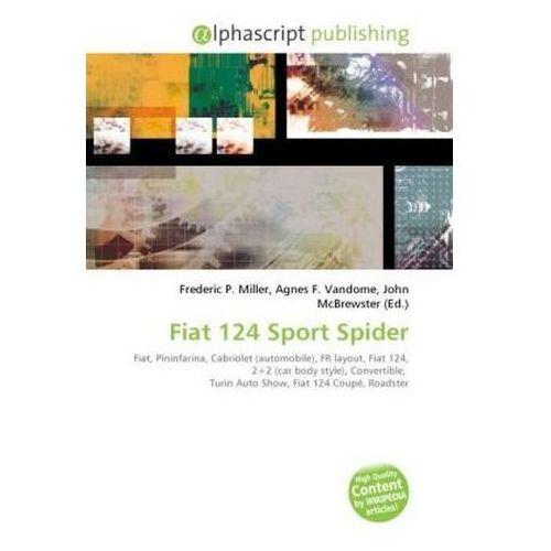 Fiat 124 Sport Spider (9786130832599)