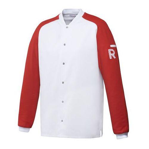 Robur Kitel, długi rękaw, rozmiar xxl, biało-czerwony | , vintage
