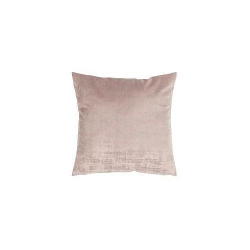 D2.design Poduszka vintage velvet brudny róż 50x50 cm