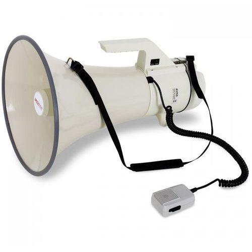 Profesjonalny megafon 160w mikrofon ręczny 2400m marki Auna