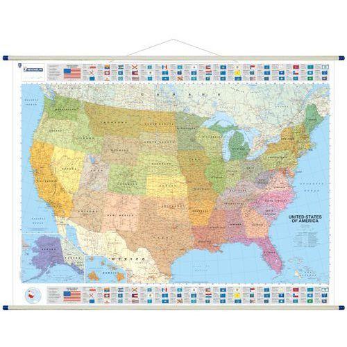 Stany Zjednoczone mapa ścienna 1:3 450 000 (9782061011324)