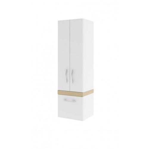 AQUAFORM szafka wysoka Merida legno jasne (słupek) 0415-293051 - produkt z kategorii- regały łazienkowe