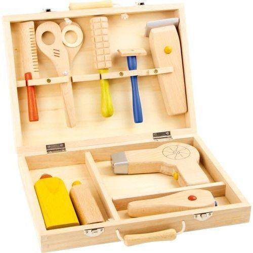 Zabawa w fryzjera - drewniana zabawka dla dzieci oferta ze sklepu www.epinokio.pl