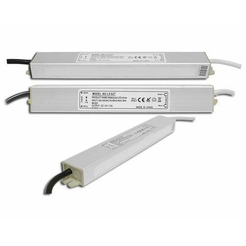 Zasilacz do pasków Led 30W IP67 hermetyczny z kategorii oświetlenie