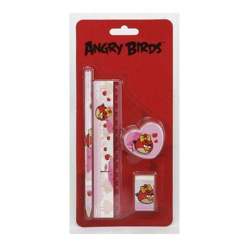 Zestaw szkolny 4 elementowy Angry Birds Girly - oferta [05ead5adcf836463]