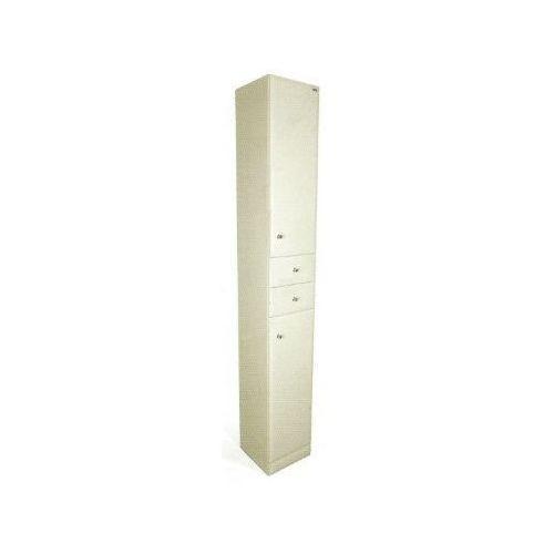 Produkt z kategorii- regały łazienkowe - Lawabo słupek łazienkowy z MDF 30x31x200 cm wysoki S6 z drzwiczka