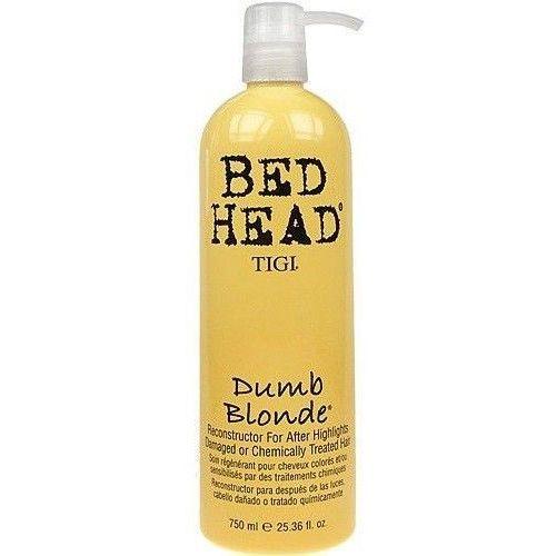 Tigi Bed Head Dumb Blonde Reconstructor 750ml W Odżywka do włosów Do włosów zniszczonych - produkt z kategorii- odżywki do włosów