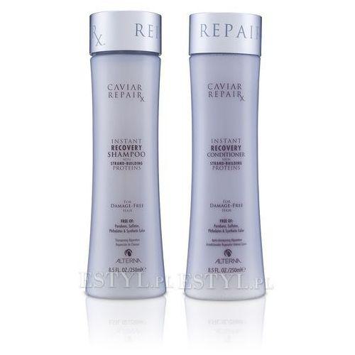 Alterna Caviar Repair Rx Zestaw do włosów zniszczonych: szampon+odżywka 2x250ml - produkt z kategorii- odżywki do włosów