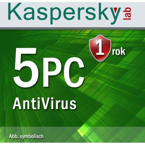 Kaspersky Antyvirus 2016 ENG 5 PC ESD - oferta (05a44670f7750535)