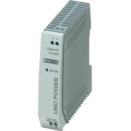 Zasilacz na szynę DIN Phoenix Contact UNO-PS/1AC/15DC/30W 2903000 2 A z kategorii Transformatory