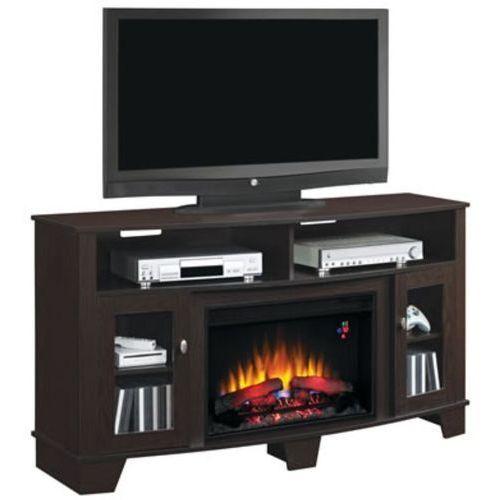 82839531 Kominek elektryczny z szafką RTV Classic Flame La Salle (kolor: espresso) - oferta [b592ef02515213dc]