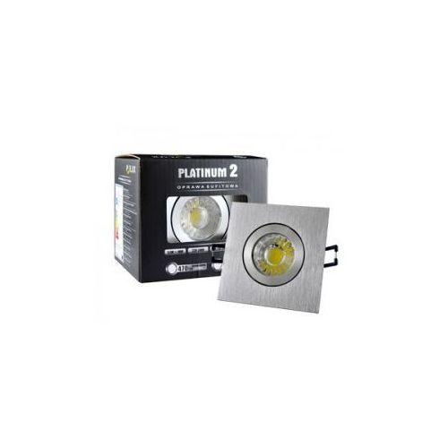 Halogen sufitowy LED Platinum 2 STAR z oprawą prostokątną 5,5 W barwa biała zimna z kategorii oświetlenie