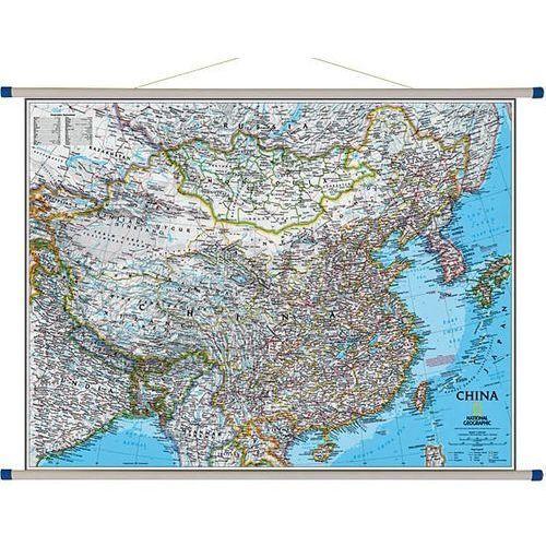 Chiny. Mapa ścienna Classic 1:7,8 mln wyd. , produkt marki National Geographic