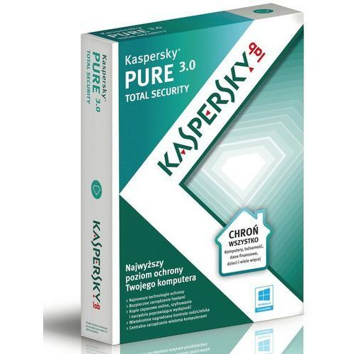 Kaspersky PURE 2015 ENG 3 PC/12 Miec ESD - oferta (25516b2ef575d3cf)