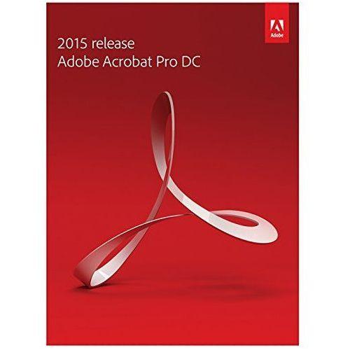 ADOBE ACROBAT Pro DC v. 2015 WIN MAC Professional - produkt z kategorii- Pozostałe oprogramowanie