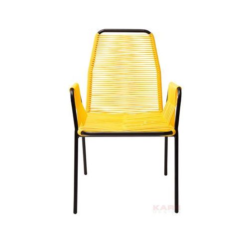 Oferta Krzesło Wicker Yellow by Kare Design