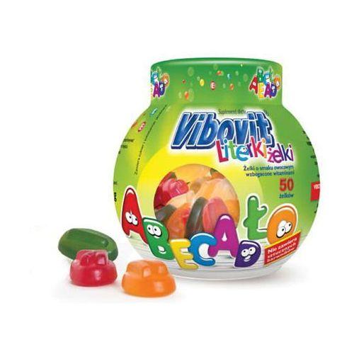 Vibovit Literki Żelki smak owocowy z witaminami żelki - 50 szt., postać leku: żelki