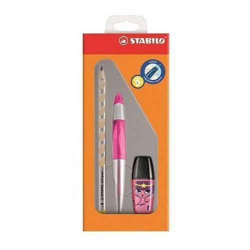 Zestaw STABILO EasyErgonomics Experts dla leworęcznych w kolorze różowym - oferta [455a6a2185f5d3ee]
