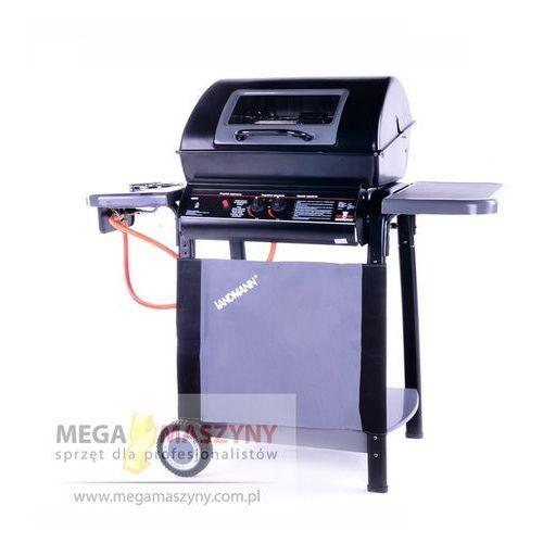 LANDMANN Grill gazowy dwupalnikowy Lava od Megamaszyny - sprzęt dla profesjonalistów
