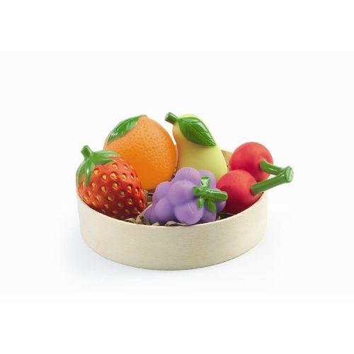 Owoce w drewnianej tacy Djeco DJ06608 oferta ze sklepu tublu.pl