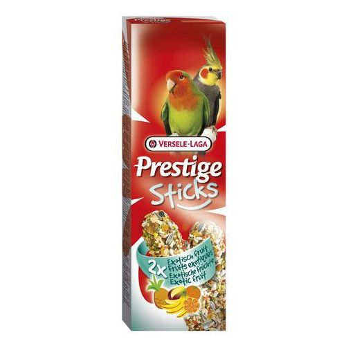 VERSELE LAGA - PRESTIGE STICKS BIG PARAKEETS EXOTIC FRUIT 140 g